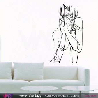 Sexy woman! - Wall stickers - Wall Decal - Viart -1
