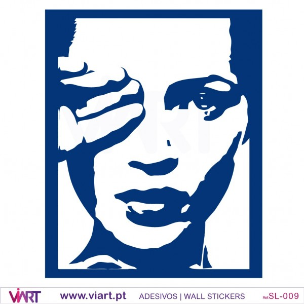 Wall Decals Pop Art : Kate moss pop art style wall stickers viart