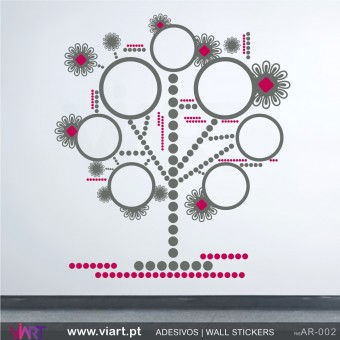 """Diagram"" Tree - Wall stickers - Wall Decal - Viart -1"