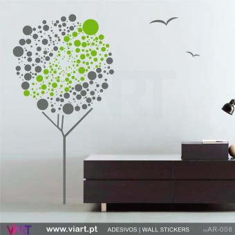 """Ball"" Tree - Wall Sticker"