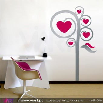 Love Tree - Wall stickers - Wall Decal - Viart -1
