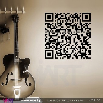 QR Code - Wall stickers - Wall Decal - Viart -1