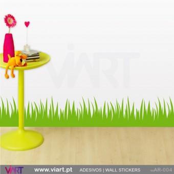 Relva - Vinil Autocolante Decorativo! Decoração Parede - Viart -1