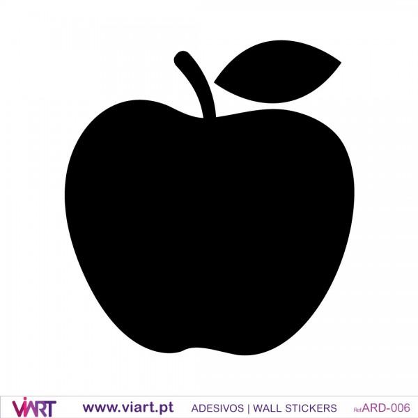Apple Blackboard - Chalkboard wall sticker decoration - Viart