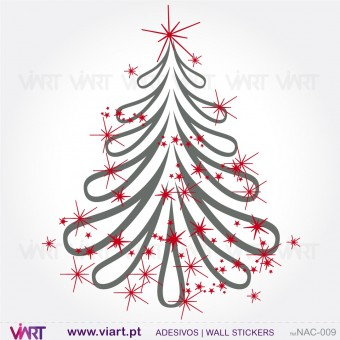 "Christmas tree ""Fantasy"" - Wall stickers - Wall Art - Viart -1"
