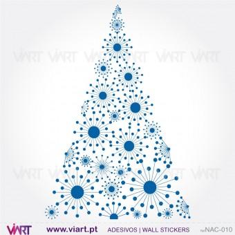 """Árvore de Natal """"Ilusão"""" - Vinil Autocolante Decorativo! Decoração Natal - Viart -1"""