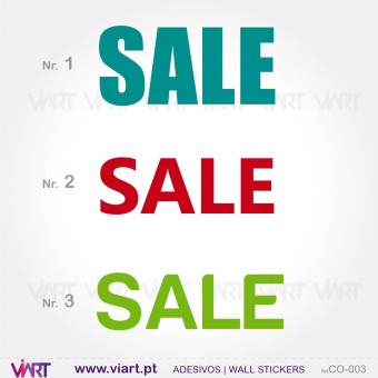 """SALE"" - Wall stickers - Window Dressing - Viart -1"