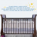 Os papás e o pequeno príncipe! - Wall stickers - Baby room decoration - Viart -1