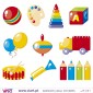 Kit of 10 Charming Wall Stickers - Kids room decoration - Viart -2
