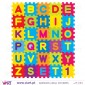 Super colorful ABC. Wall Stickers - Kids room decoration - Viart -2
