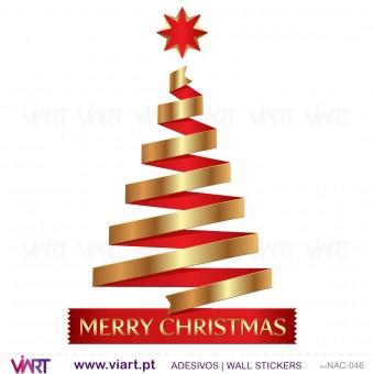 """Árvore de Natal """"Amazing"""" - Vinil Autocolante Decorativo! Decoração Natal - Viart -2"""