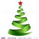 "Christmas tree ""Green"" - Wall stickers - Wall Art - Viart -2"