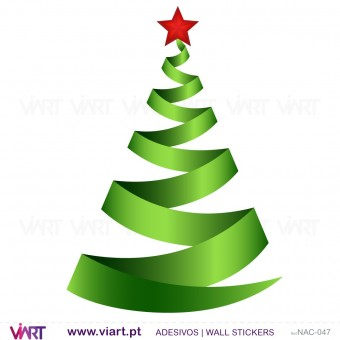 "Christmas tree ""Green"" - Wall stickers - Wall Art - Viart -2"