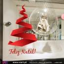 """Árvore de Natal """"Moderna"""" - Vinil Autocolante Decorativo! Decoração Natal - Viart -1"""