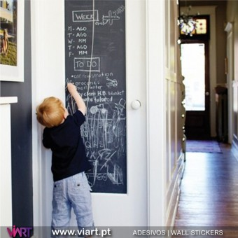 Blackboard Sheet - Chalkboard - Wall stickers - Wall Art - Viart -1