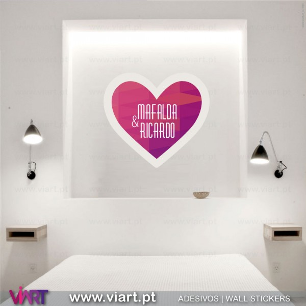 personalized heart wall stickers vinyl decoration viart personalized monogram letter wall stickers vinyl decals