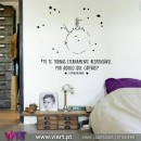 """Tu te tornas..."" The Little Prince - Saint-Exupéry - Wall stickers - Decal - Viart -1"
