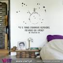 """Tu te tornas..."" The Little Prince - Saint-Exupéry - Wall stickers - Decal - Viart -1"