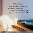 """Entre nós..."" 2 - Wall stickers - Decal - Viart -1"