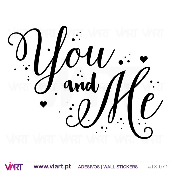 You and Me! 2 Wall stickers - ...