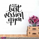 Be the best version of you - Wall sticker - Decal - Viart - 1