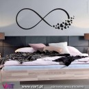 Infinity... with birds, butterflies and hearts. Wall Sticker! Wall decal. Viart 1