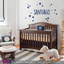 Customizable Boy Name. Wall Sticker Wall Sticker! Wall decal. Viart 1