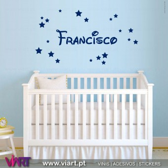 Customizable Boy Name. 2 - Wall Sticker Wall Sticker! Wall decal. Viart 1