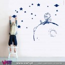 The Little Prince on the planet! Wall Sticker - Viart 1