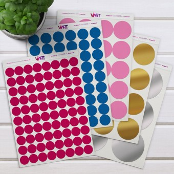 Dots! Wall Sticker. Wall Decal Set - Viart 1