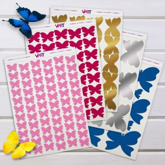 BUTTERFLY! Wall Sticker. Wall Decal Set - Viart 1