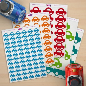 CARS! Wall Sticker. Wall Decal Set - Viart 1