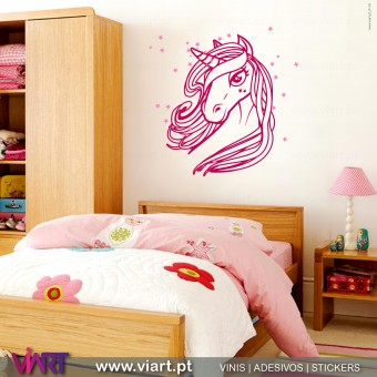 ViArt.pt - Wonder Unicorn! Wall Sticker - Wall Decal - 1