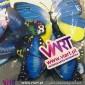 Conjunto de 12 Borboletas Magnéticas Azuis! Efeito 3D! Viart 5