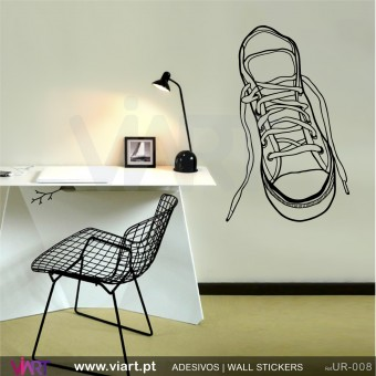 Sneaker - Tennis!! Wall Sticker! Wall decal. Viart