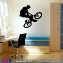ViArt.pt - Bicycle! Btt! Wall Sticker - Wall Decal - 1
