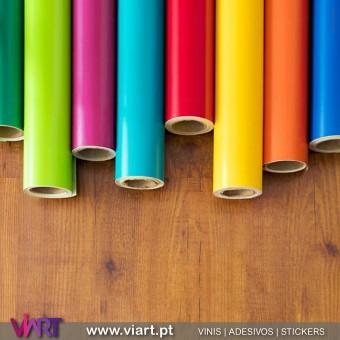 Vinil a metro - Rolo de Vinil Autocolante Decorativo! Decoração Parede - Viart -1
