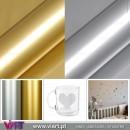 Vinyl Sheet - Meter - Wall stickers - Wall Art Decor - Viart - Golden - Silver