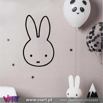 Bonequinha Miffy! Vinil Decorativo!