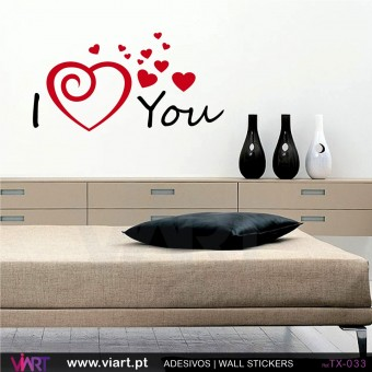 I (love) You - Wall sticker