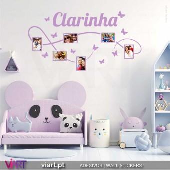 Fotografias da Família.. Vinil Decorativo Parede! Autocolante para parede - Viart.pt - 9