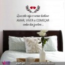 Home Sweet Home. Wall Sticker