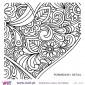Coração floral! - Vinil Adesivo para Decoração - Viart -4