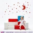 CONJUNTO CÉU ESTRELADO - Vinil Adesivo para Decoração Infantil- Viart -1