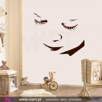 BABY FACE! - Wall stickers - Baby room - Viart -1