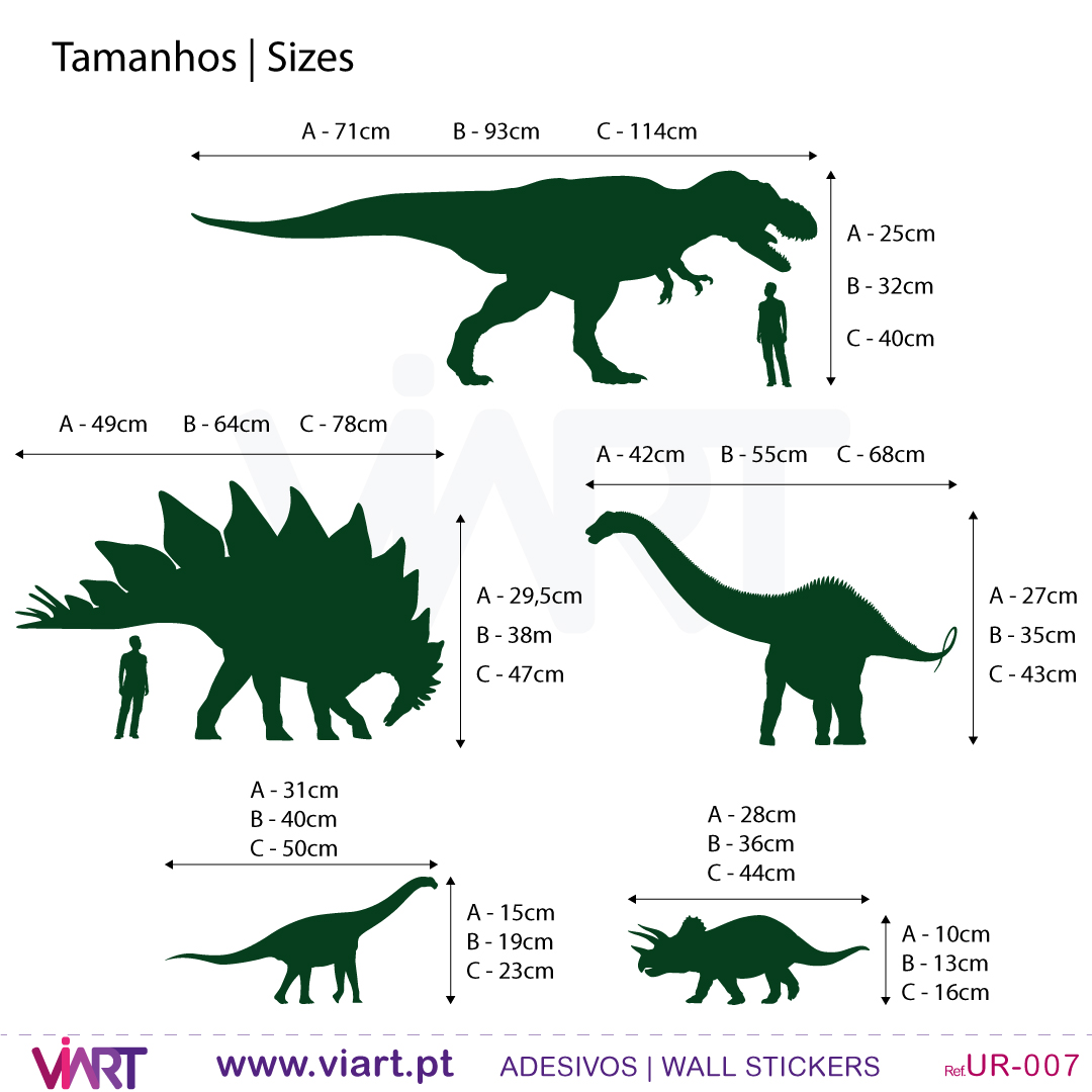 Dinosaurs Wall Stickers Wall Art Viart
